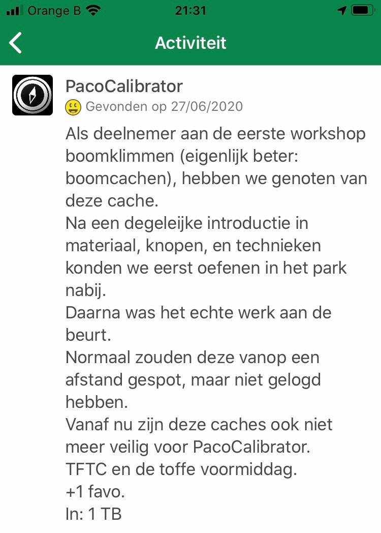 Workshop Boomklimmen 1