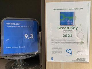 B&B Gent green key